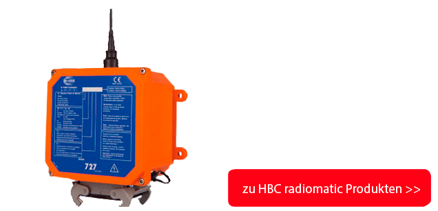 HBC radiomatic Banner mit Button, FSe 510