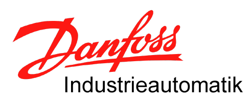 Danfoss Industrieautomatik Logo, transparenter Hintergrund