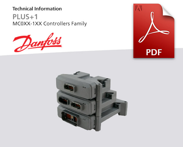 Controller Family von Danfoss, Baureihe PLUS 1 R-MC0XX-1XX, PDF-Dokument zum Download