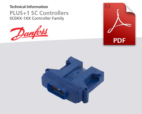 Controller Family von Danfoss, Baureihe PLUS 1 SC0XX-1XX, Pdf-Dokument zum Download
