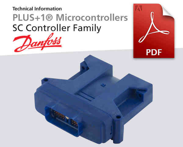 Microcontroller von Danfoss, PLUS 1 R, Pdf-Dokument zum Download